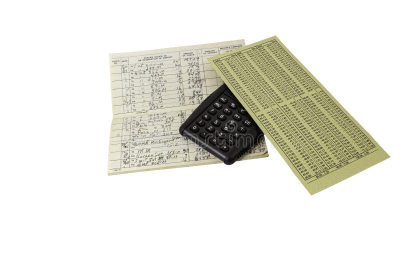 Steuerzeit-Berechnungskonzept lokalisiert stockfotografie