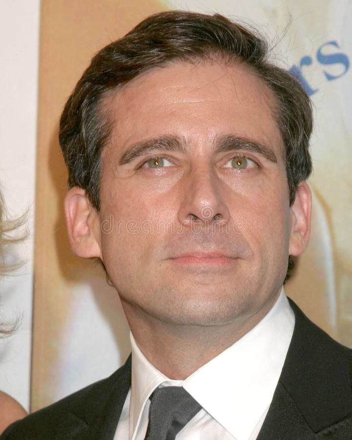 Download Steve Carell editorial stock image. Image of awards, writers - 26911239