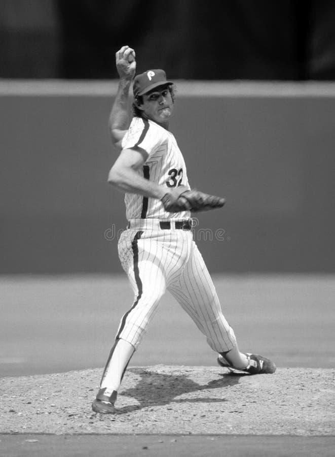 Steve Carlton Philadelphia Phillies στοκ εικόνα με δικαίωμα ελεύθερης χρήσης