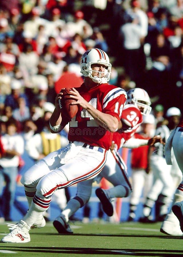 Steve Grogan New England Patriots royalty free stock image