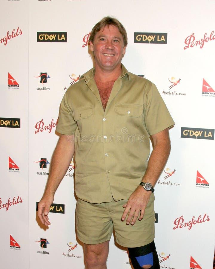 Steve Irwin zdjęcie stock
