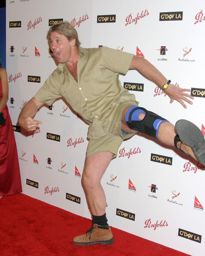 Steve Irwin fotografia royalty free