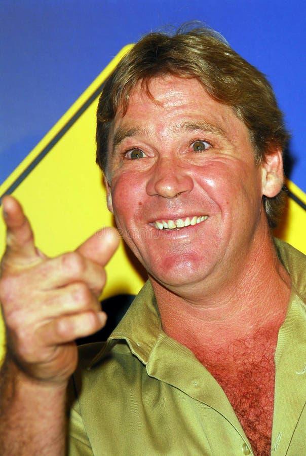 Steve Irwin royalty-vrije stock foto