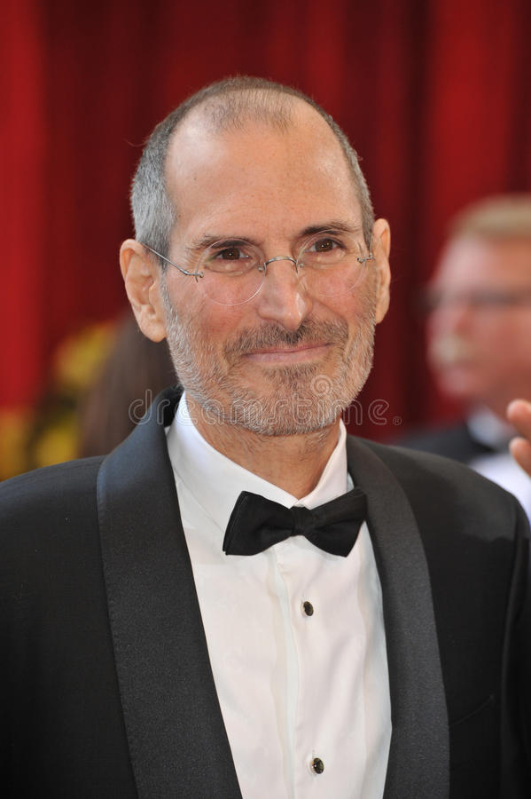 Steve Jobs royalty free stock image