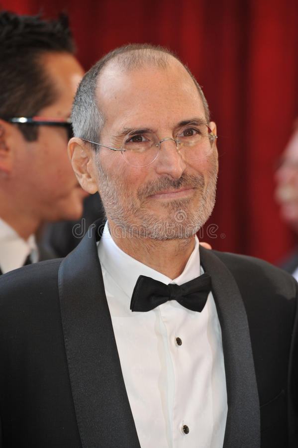 Steve Jobs royalty-vrije stock foto