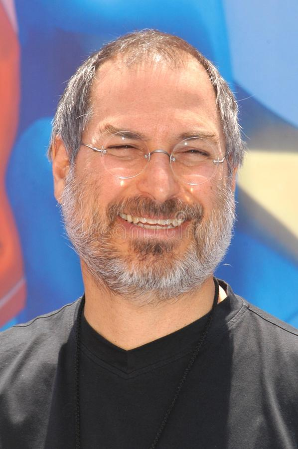 Steve Jobs. At the premiere of Disney's 'Finding Nemo' at the El Capitan Theater, Hollywood, CA 05-18-03 royalty free stock photos