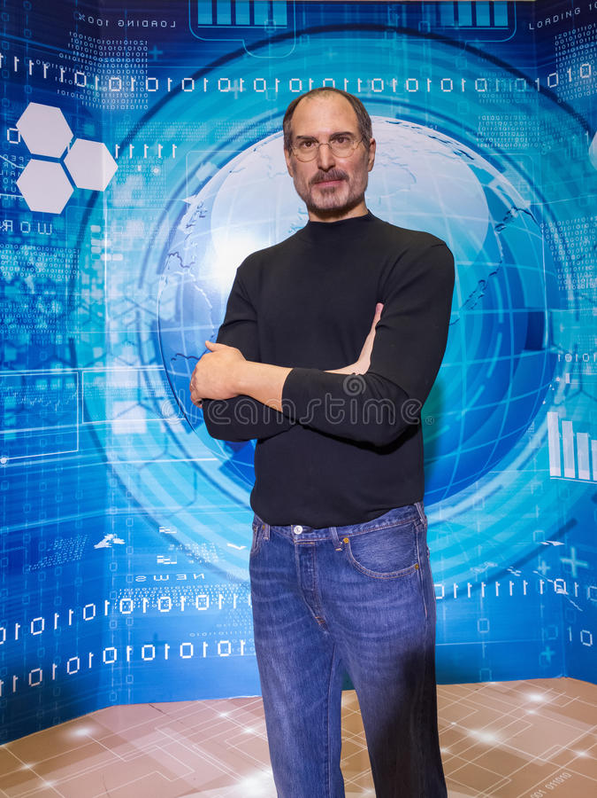 Steve Jobs royalty free stock photos
