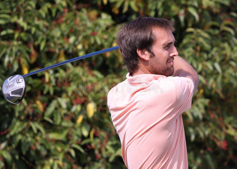 Steve Lewton At The Golf Open De Paris 2009 Editorial Photo