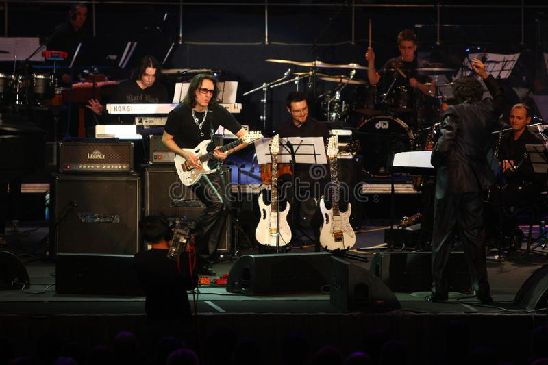 Download Steve Vai And The Evolution Tempo Orchestra Editorial Photography - Image: 17513127
