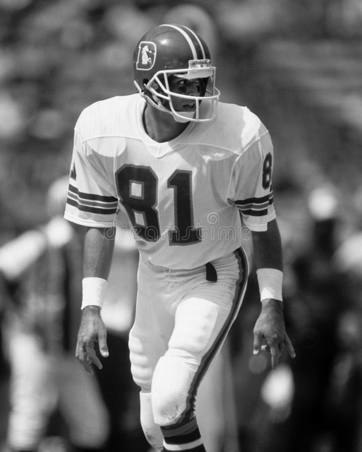 Steve Watson. Denver Broncos WR Steve Watson, #81. (Image taken from the B&W negative stock photography