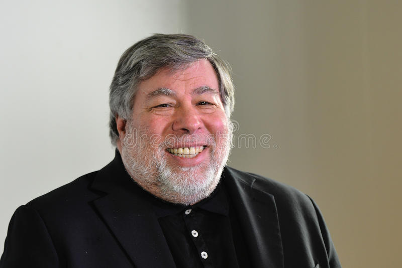 STEVE WOZNIAK - APPLE COMPUTER DO COFOUNDER fotos de stock