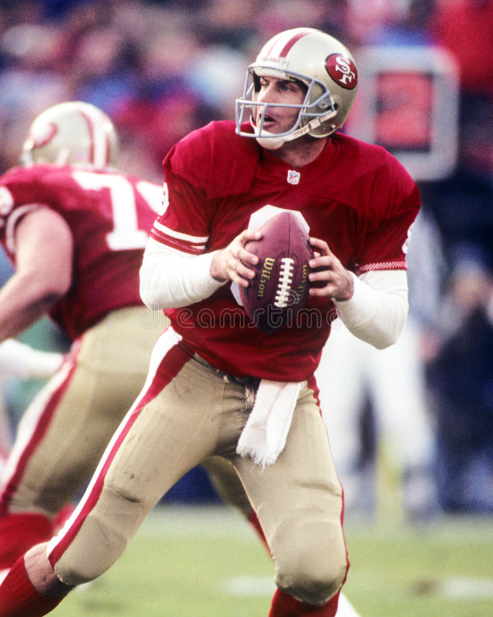 Steve Young stock afbeelding