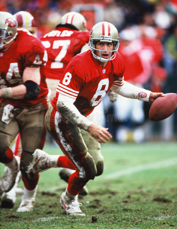 Steve Young San Francisco 49ers photo stock