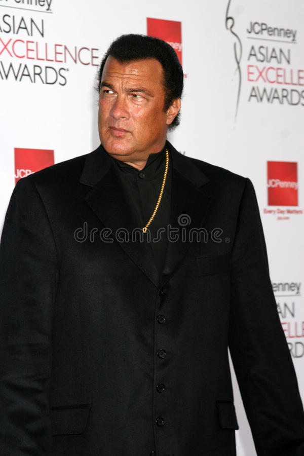 Steven Seagal. Asian Excellence Awards 2008 Royce Hall Westwood, CA April 23, 2008 stock photography