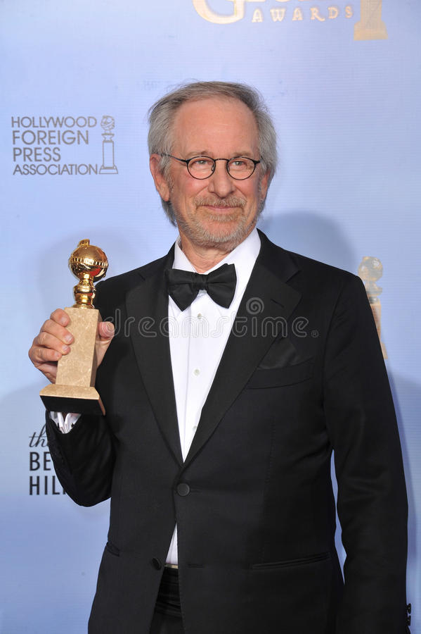 Steven Spielberg. At the 69th Golden Globe Awards at the Beverly Hilton Hotel. January 15, 2012 Beverly Hills, CA Picture: Paul Smith / Featureflash stock photography