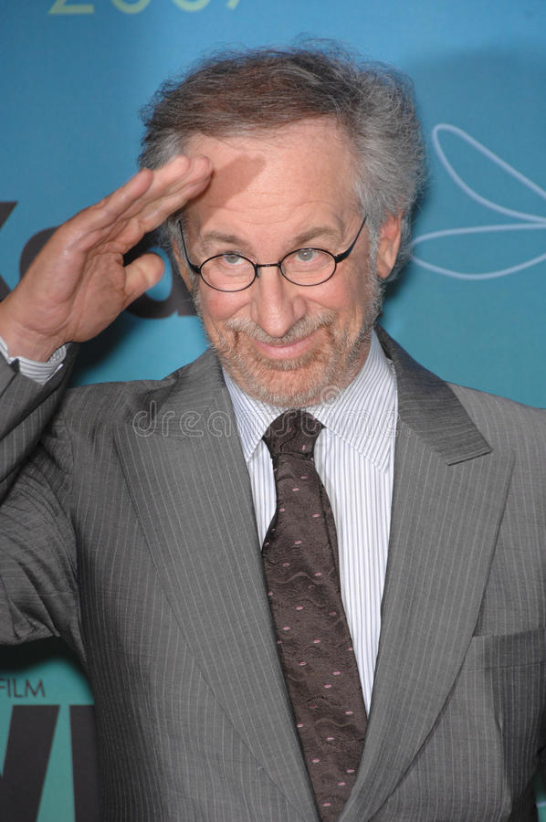 Steven Spielberg. At the Women in Film 2007 Crystal + Lucy Awards at the Beverly Hilton Hotel. June 15, 2007 Beverly Hills, CA Picture: Paul Smith / stock images