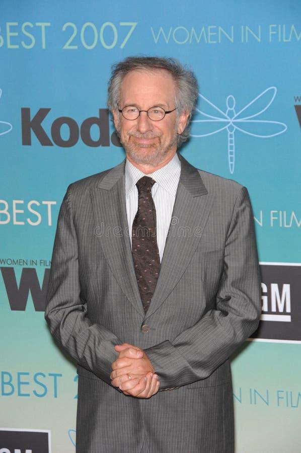 Steven Spielberg imagen de archivo libre de regalías