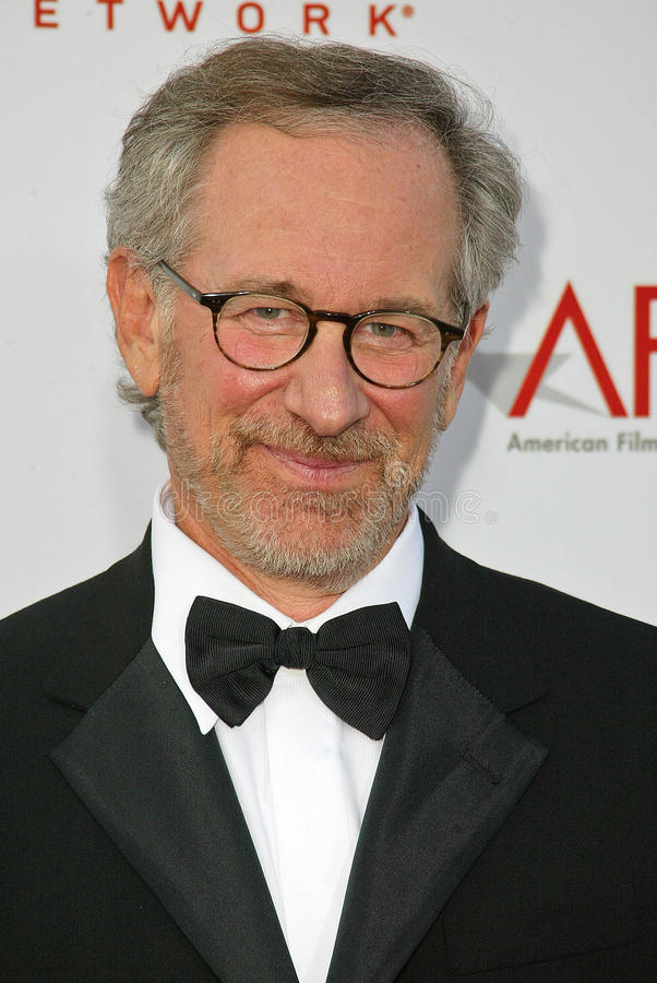Steven Spielberg. At the AFI 33rd Life Achievement Award honoring George Lucas, Kodak Theater, Hollywood, CA 06-09-05 royalty free stock photos
