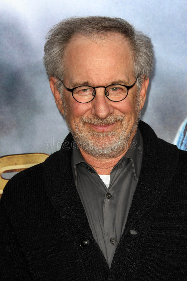 Steven Spielberg. At the 'Cowboys & Aliens' World Premiere, San Diego Civic Theatre, San Diego, CA. 07-23-11 royalty free stock image