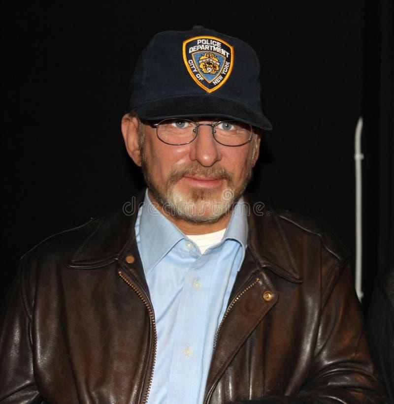 Steven Spielberg na senhora Tussaud imagens de stock