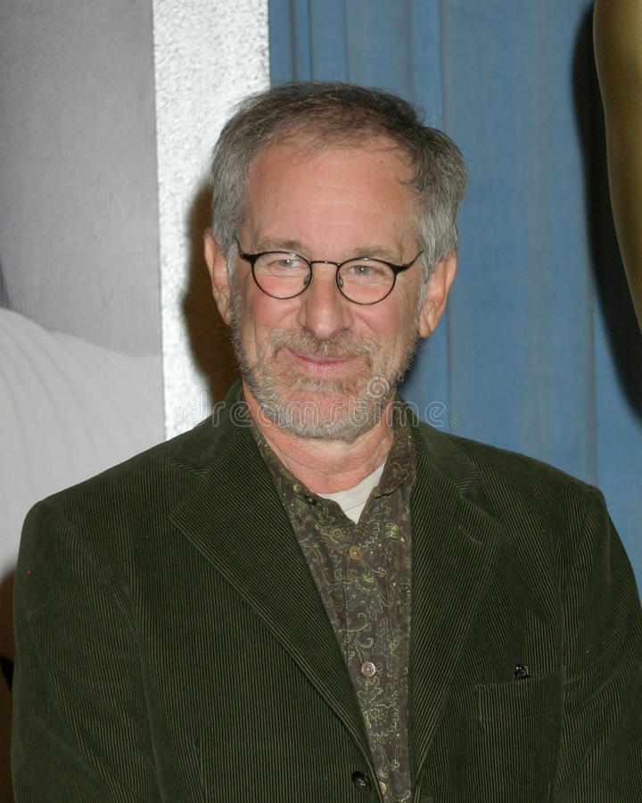 Steven Spielberg. Oscar Nominee Luncheon Beverly Hilton Hotel February 13, 2006 stock photo