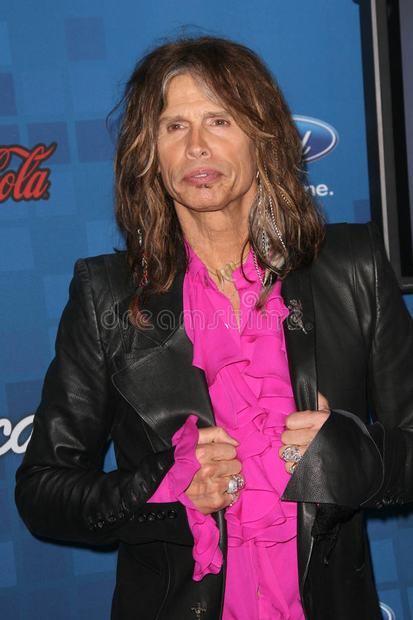 Steven Tyler royalty free stock images
