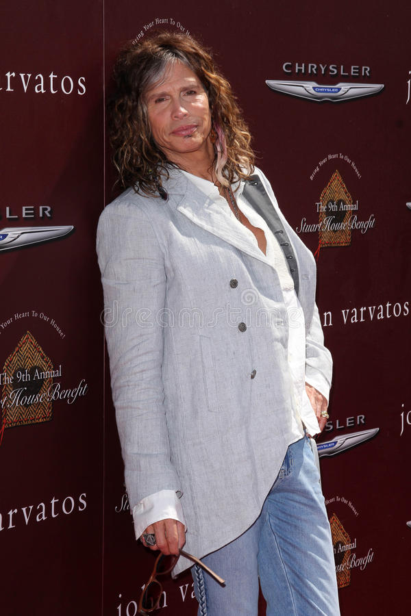Steven Tyler stock photography