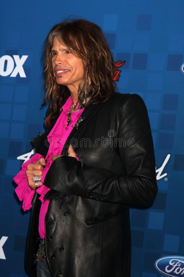 Steven Tyler royalty free stock photos