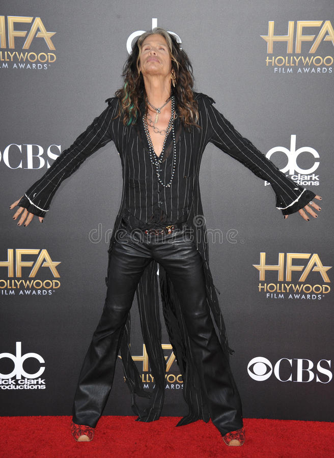 Steven Tyler royalty free stock photography
