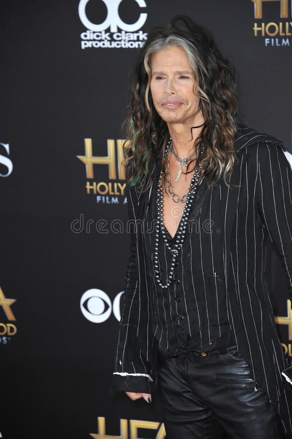 Steven Tyler. LOS ANGELES, CA - NOVEMBER 14, 2014: Steven Tyler at the 2014 Hollywood Film Awards at the Hollywood Palladium royalty free stock photos