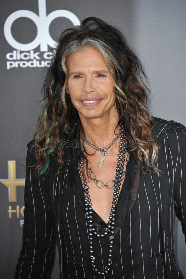 Steven Tyler. LOS ANGELES, CA - NOVEMBER 14, 2014: Steven Tyler at the 2014 Hollywood Film Awards at the Hollywood Palladium stock photography