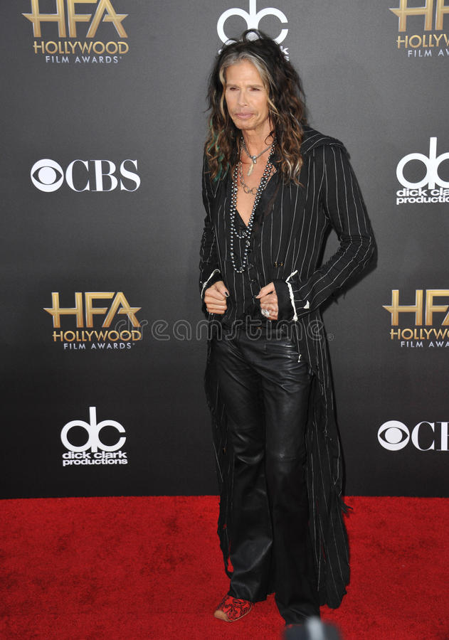 Steven Tyler. LOS ANGELES, CA - NOVEMBER 14, 2014: Steven Tyler at the 2014 Hollywood Film Awards at the Hollywood Palladium royalty free stock images