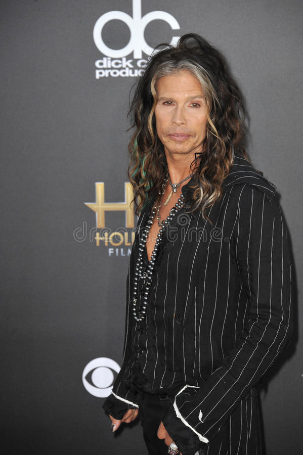 Steven Tyler. LOS ANGELES, CA - NOVEMBER 14, 2014: Steven Tyler at the 2014 Hollywood Film Awards at the Hollywood Palladium stock photos