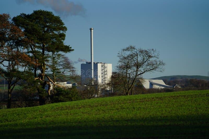 Stevens Croft Power Station royalty-vrije stock fotografie