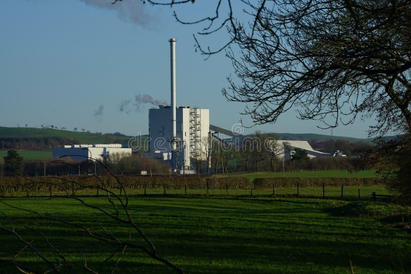 Stevens Croft Power Station royalty-vrije stock foto's