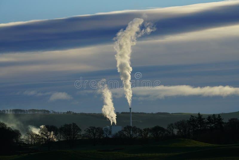 Stevens Croft Power Station stock foto