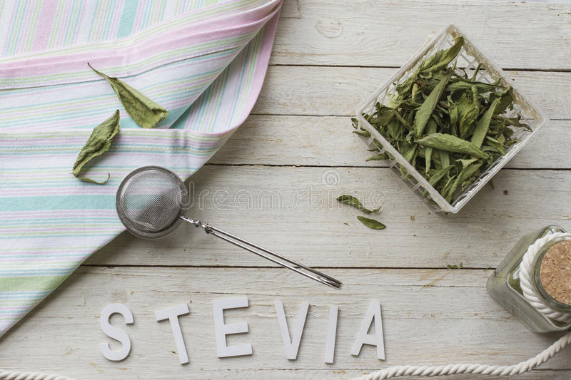 Stevia royalty free stock photo