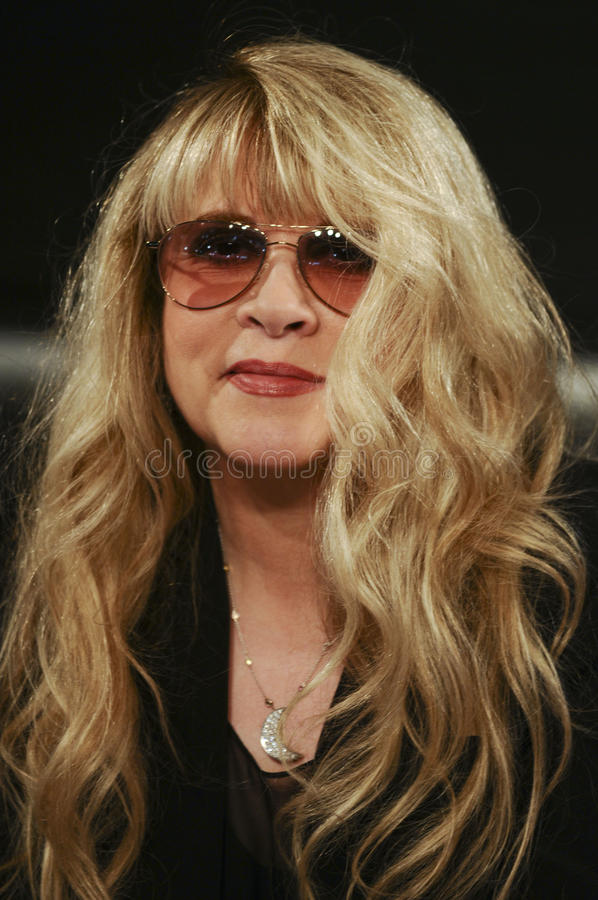 Stevie Nicks stock image