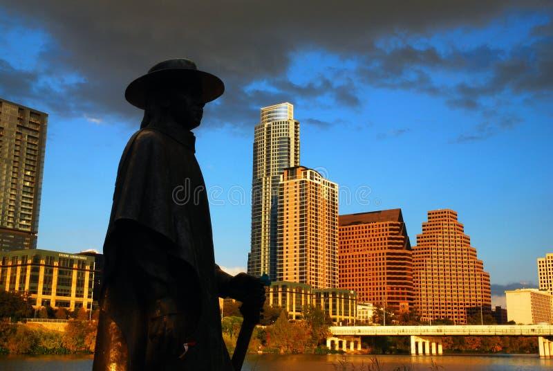 Stevie Ray Vaughn Austin Texas stock photos