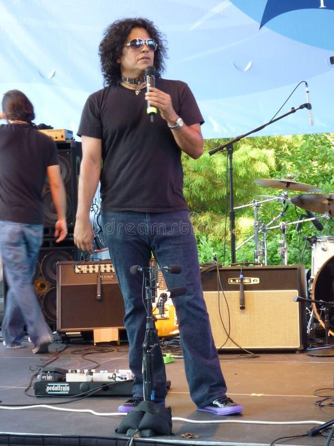 Stevie Salas bujía métrica foto de archivo libre de regalías