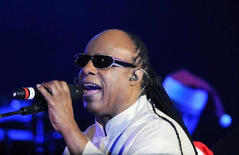 Stevie Wonder fotografia de stock royalty free