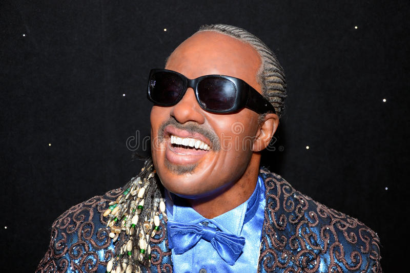 Stevie Wonder royalty-vrije stock fotografie