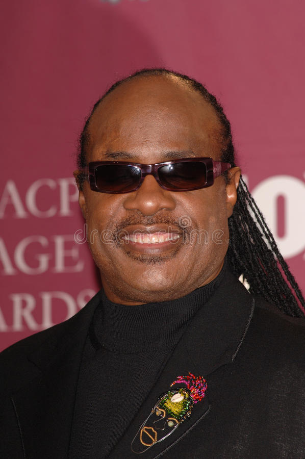 Stevie Wonder foto de stock