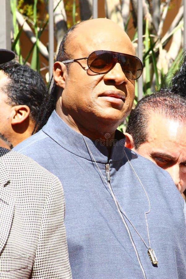 Stevie Wonder royalty-vrije stock foto