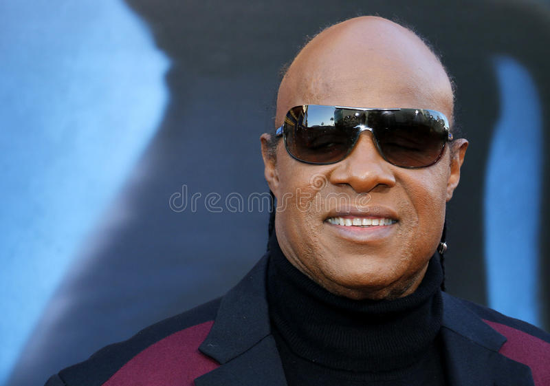 Stevie Wonder. At the Los Angeles premiere of `Sing` held at the Microsoft Theater in Los Angeles, USA on December 3, 2016 stock images