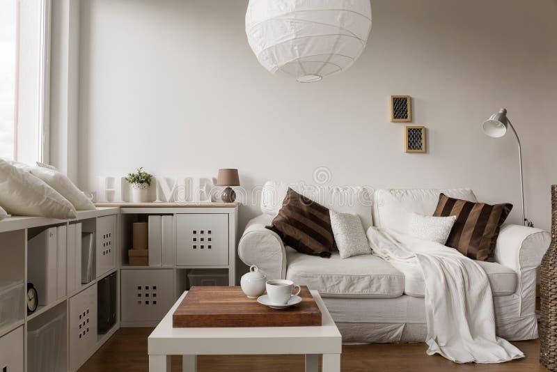 Stevig wit meubilair stock foto's