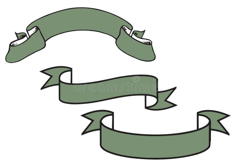 Stevige banner - vector vector illustratie
