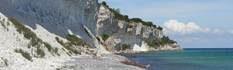 Stevns klippa, Danmark arkivfoton