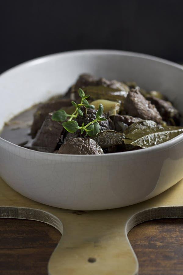 Stew βόειου κρέατος στοκ εικόνες με δικαίωμα ελεύθερης χρήσης