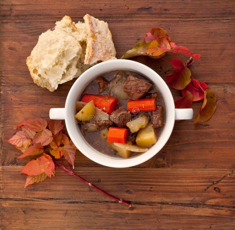 Stew βόειου κρέατος στοκ εικόνα